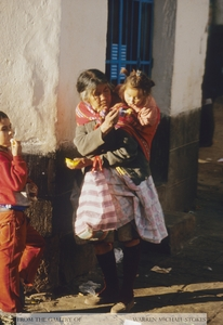 Incan Woman and Children