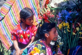 Mayan Flower Girls