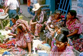 Mayan Market Family Stand