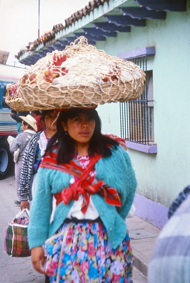 Mayan Poultry Vendor