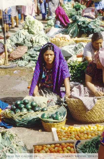 Mayan Vegetable Market
