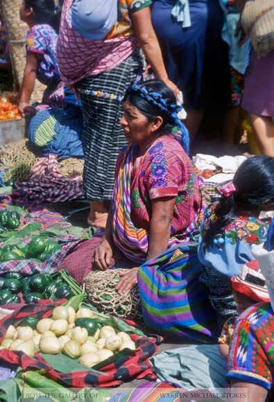 Mayan Vegetable Vendor