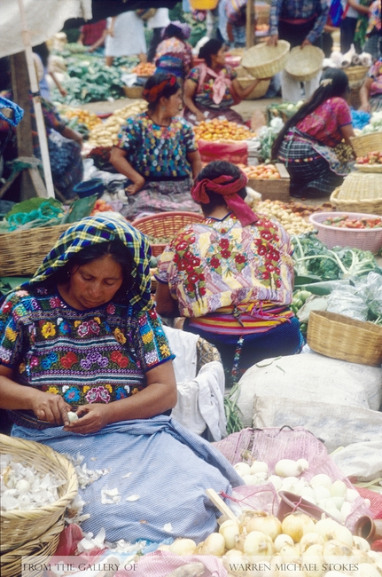 Mayan Vegetable Vendors