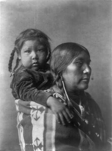 Native American Women/Children