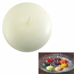 """1.75"""" White Candle Floats Floating Candles, Set of 20"""