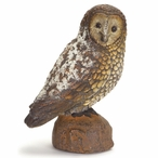 "12"" Owl Bird Sculptures, Set of 2"