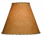 "16"" Parchment Lamp Shade with Lace"