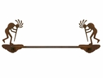 "18"" Kokopelli Metal Towel Bar"