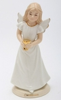 1st Communion Angel Porcelain Figurine Sculpture