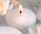 """2 1/4"""" White Candle Floats Floating Candles, Set of 40"""