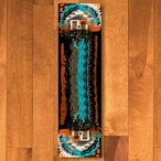 2' x 8' Boogie Rust Navajo Style Rectangle Runner Rug