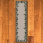 2' x 8' Pins & Needles Natural Pine Cones Nature Rectangle Runner Rug