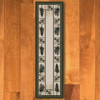 2' x 8' Stoic Pines Forest Nature Rectangle Runner Rug