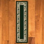 2' x 8' Three Sisters Emerald Cherokee Inspired Rectangle Runner Rug