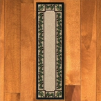 2' x 8' Valley Forest Nature Pinecones Rectangle Runner Rug