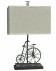 "24"" Big Wheel Table Lamp"
