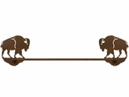 "27"" Buffalo Metal Towel Bar"