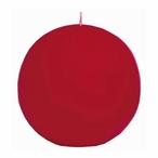 """3"""" Cranberry Ball Candles, Set of 4"""