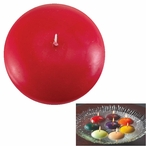 """3"""" Cranberry Candle Floats Floating Candles, Set of 16"""