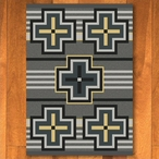 3' x 4' Bounty Gray Southwest Rectangle Scatter Rug