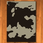 3' x 4' Chocolate Cowhide Western Rectangle Scatter Rug