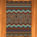 3' x 4' Cresting Fletcher Rainbow Southwest Rectangle Scatter Rug