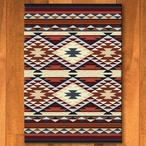 3' x 4' Diamond Rio Rust Southwest Rectangle Scatter Rug