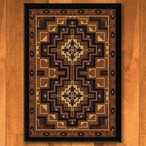 3' x 4' High Rez Earth Southwest Rectangle Scatter Rug