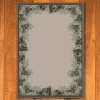 3' x 4' Pins & Needles Natural Pine Cones Nature Rectangle Scatter Rug