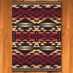 3' x 4' Rustic Cross Burnt Red Southwest Rectangle Scatter Rug