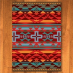 3' x 4' Rustic Cross Sunset Southwest Rectangle Scatter Rug