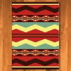 3' x 4' Scout Fiesta Southwest Rectangle Scatter Rug