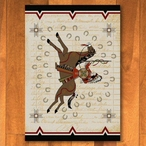 3' x 4' War Records Southwest Rectangle Scatter Rug