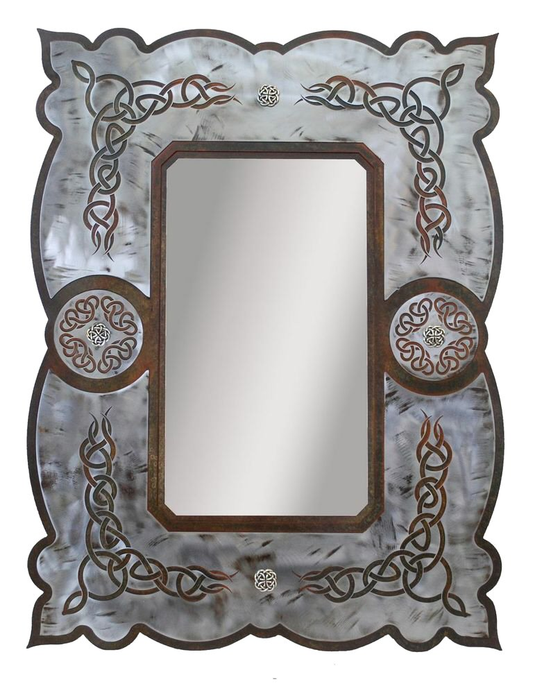 Bathroom wall decorations mirrored wall decor for Mirror wall art