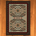 4' x 5' Butte Southwest Rectangle Rug