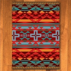 4' x 5' Rustic Cross Sunset Southwest Rectangle Rug