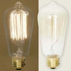 40 Watt Wide Vintage Light Bulb for Pendant Lights