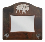 "5"" x 7"" Burnished Buffalo Metal Picture Frame"