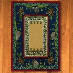 5' x 8' Cabin In The Pines Clearing Nature Rectangle Rug
