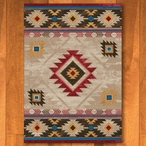 5' x 8' Whisky River Natural Southwest Rectangle Rug