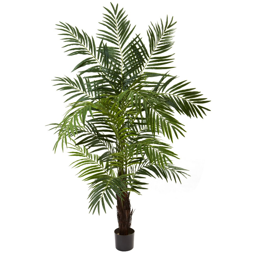 6 39 silk areca palm tree artificial trees silk trees for Pictures of areca palm plants