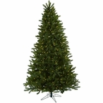 7.5' Rembrandt Artificial Christmas Tree with Clear Lights