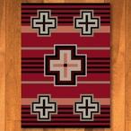 8' x 11' Bounty Red Southwest Rectangle Rug
