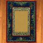 8' x 11' Cabin In The Pines Clearing Nature Rectangle Rug