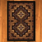 8' x 11' High Rez Earth Southwest Rectangle Rug