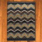 8' x 11' Trapper Brown Southwest Rectangle Rug