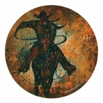 A Home Sandstone Round Beverage Coasters by Sokol Hohne, Set of 8
