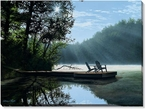 A Place to Ponder Wrapped Canvas Giclee Print Wall Art