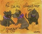 Abaiano Puppies Wrapped Canvas Giclee Print Wall Art