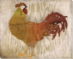 Adorned Chicken Bird 8 Wrapped Canvas Giclee Print Wall Art